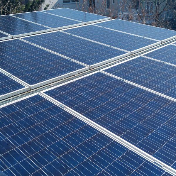 Pranje solarnih panela
